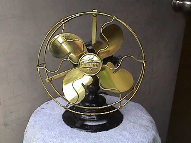 Vintage Fan darryl hudson antique and vintage electric fan collecting